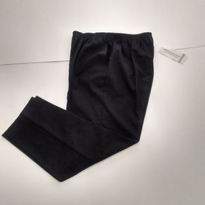New Women's Alfred Dunner Pants, Black, Size 12